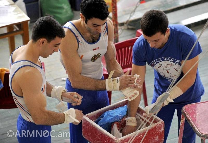 Армению на чемпионате Европы по спортивной гимнастике представят шесть спортсменов